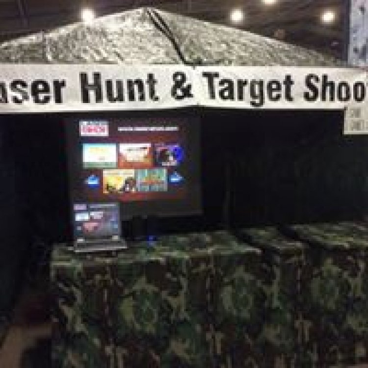 Laser Shooting Gallery