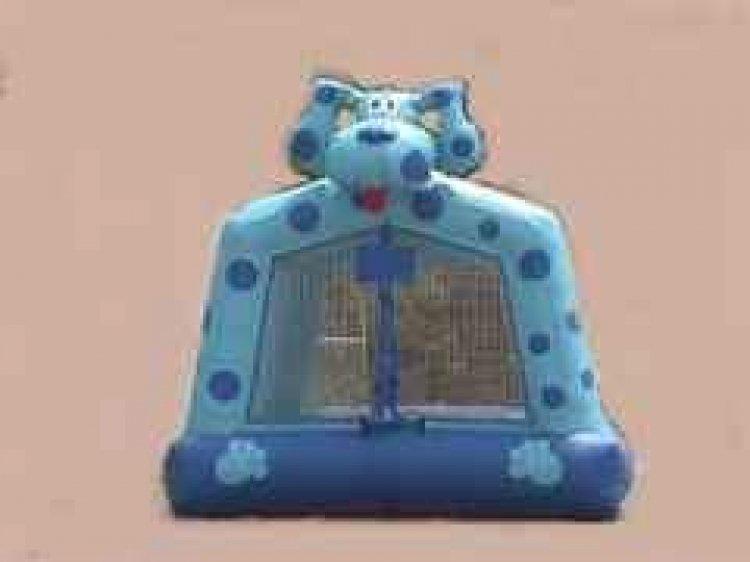 Blues Dog moonbounce